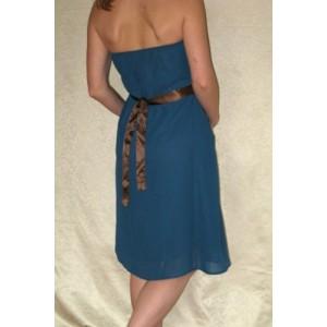 Grūtnieču kleita ar jostu