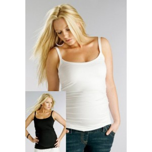 Maternity top with straps