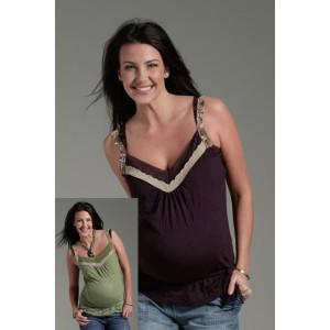 Топ для беременных на ленточках